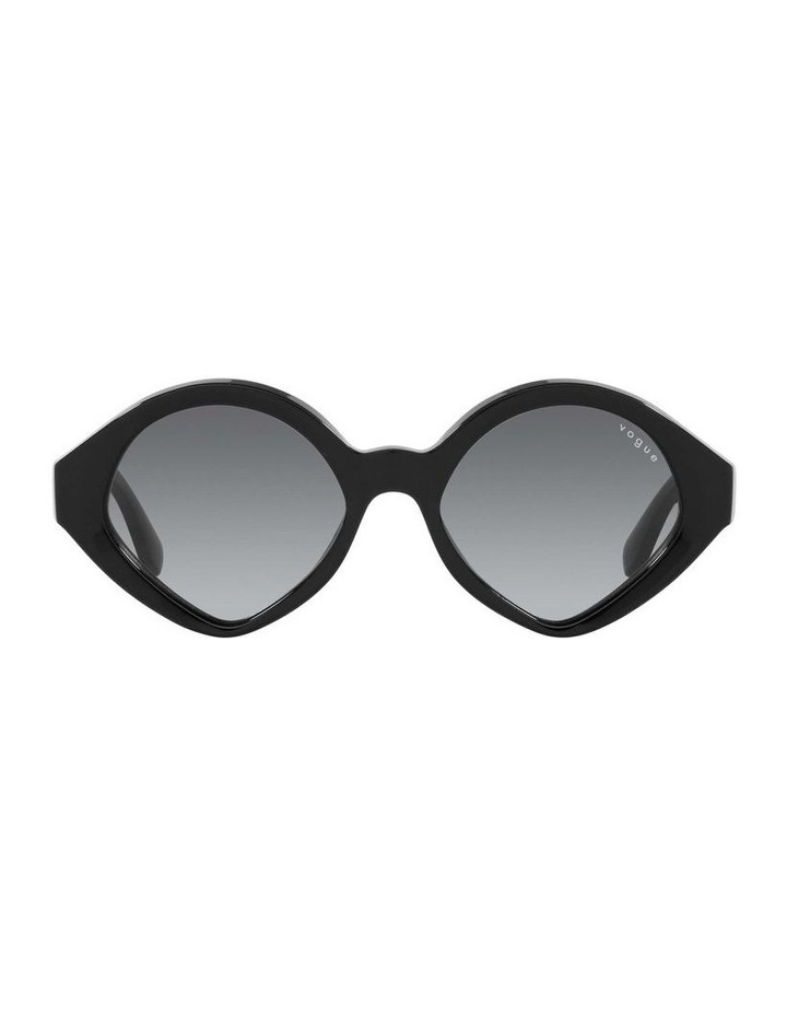MBB X VOGUE Black Oval Sunglasses 0VO5394S 1535991003 image 2