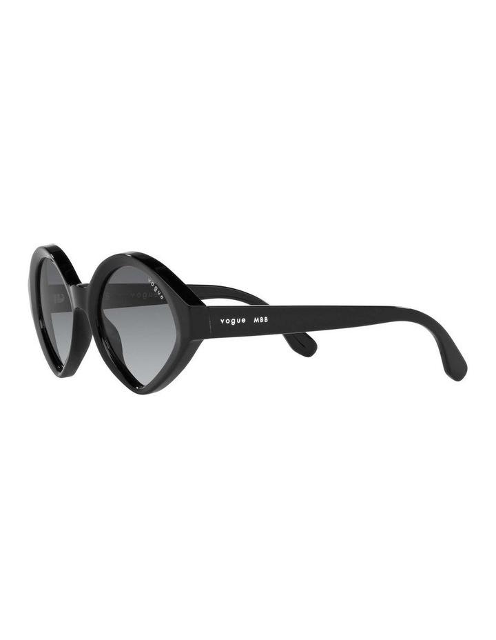 MBB X VOGUE Black Oval Sunglasses 0VO5394S 1535991003 image 3