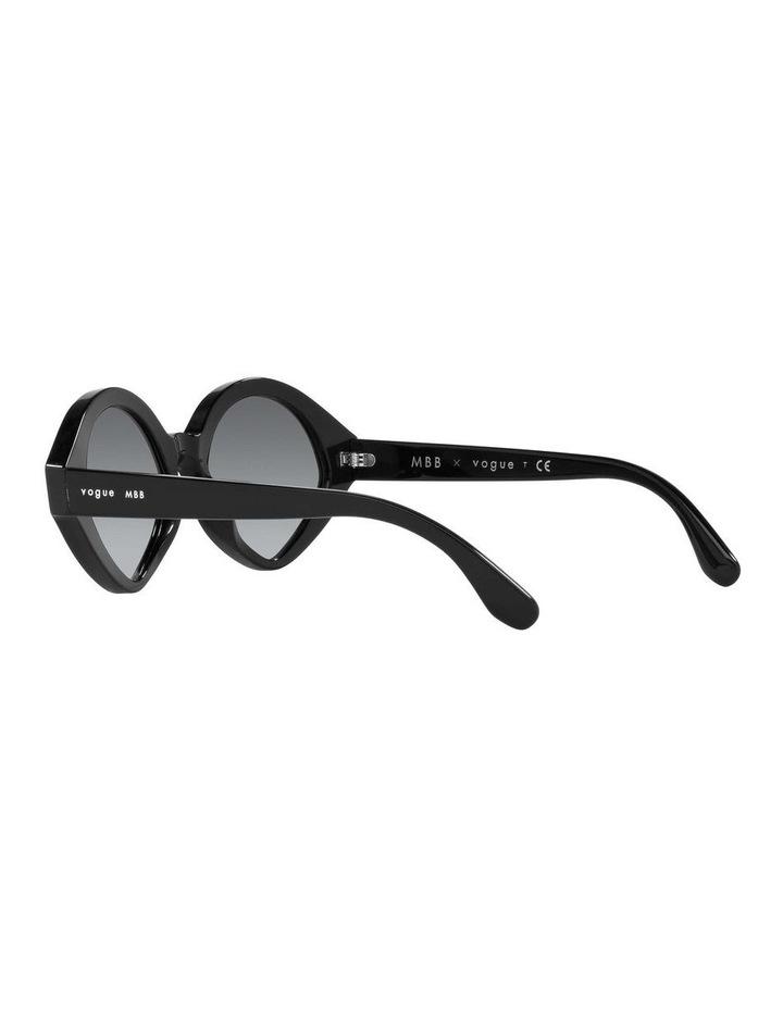 MBB X VOGUE Black Oval Sunglasses 0VO5394S 1535991003 image 5