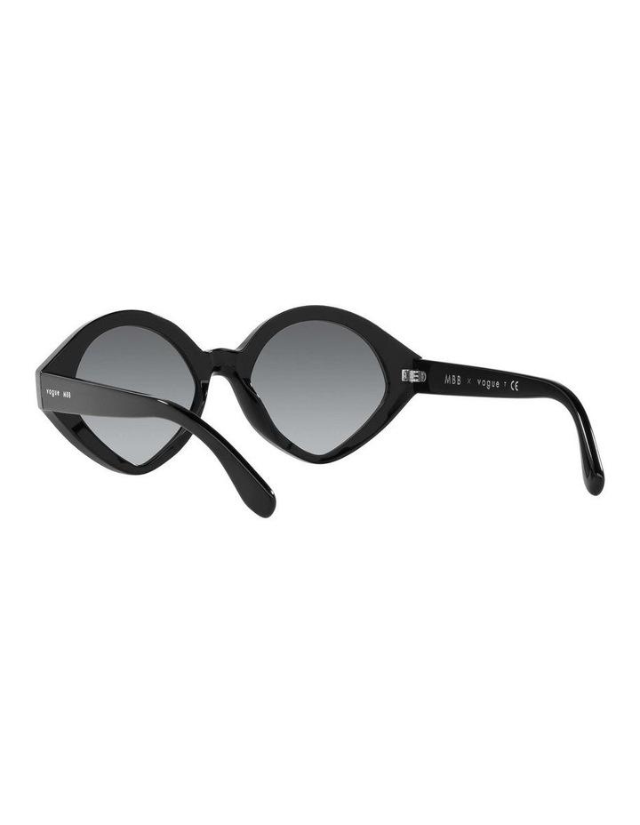 MBB X VOGUE Black Oval Sunglasses 0VO5394S 1535991003 image 6