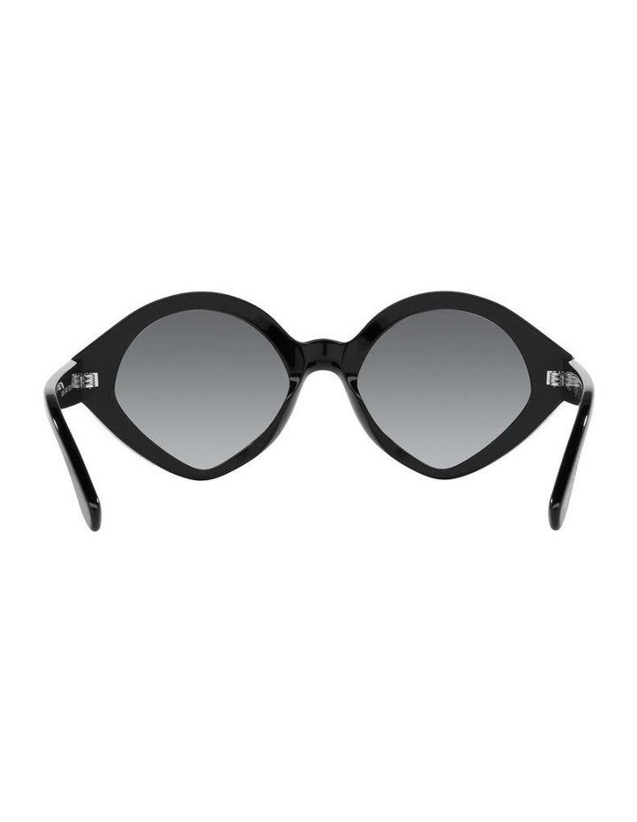 MBB X VOGUE Black Oval Sunglasses 0VO5394S 1535991003 image 7
