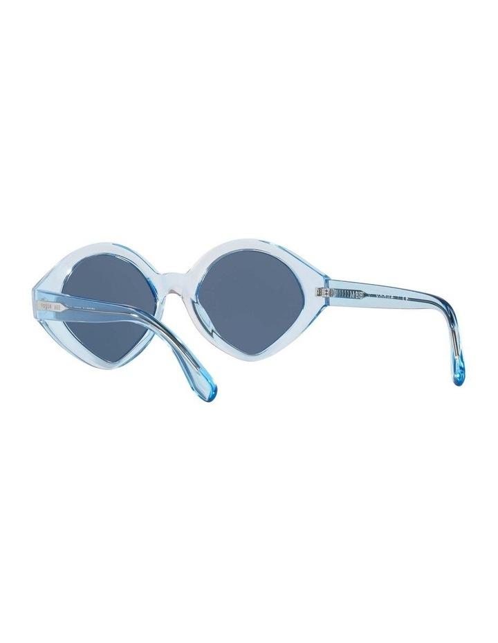 MBB X VOGUE Blue Transparent Oval Sunglasses 0VO5394S 1535991004 image 6