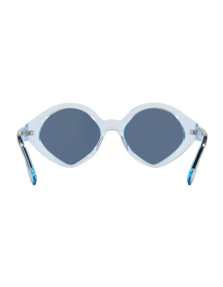 MBB X VOGUE Blue Transparent Oval Sunglasses 0VO5394S 1535991004 image 7
