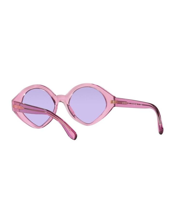 MBB X VOGUE Pink Transparent Oval Sunglasses 0VO5394S 1535991006 image 6