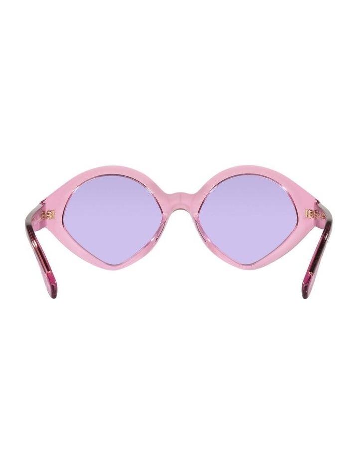 MBB X VOGUE Pink Transparent Oval Sunglasses 0VO5394S 1535991006 image 7
