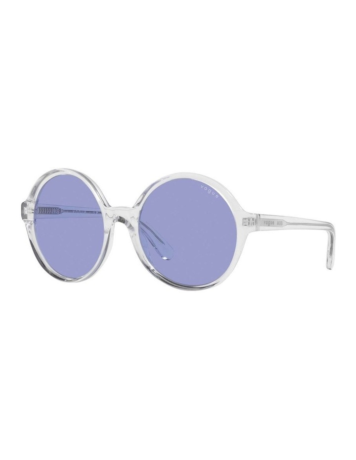 MBB X VOGUE Transparent Round Sunglasses 0VO5393S 1536026006 image 1