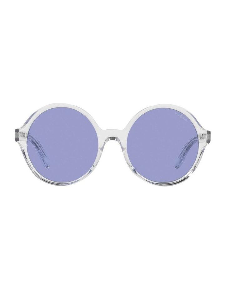 MBB X VOGUE Transparent Round Sunglasses 0VO5393S 1536026006 image 2