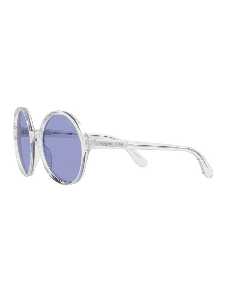 MBB X VOGUE Transparent Round Sunglasses 0VO5393S 1536026006 image 3