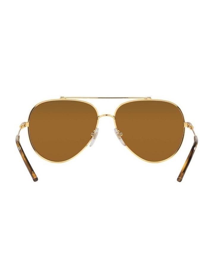 X VOGUE Polarised Gold Aviator Sunglasses 0VO4212SMBB 1536498001 image 7