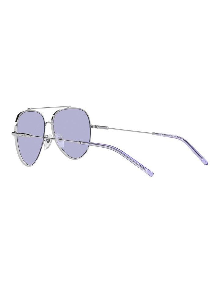 MBB X VOGUE Silver/Purple Aviator Sunglasses 0VO4212S 1536498003 image 5