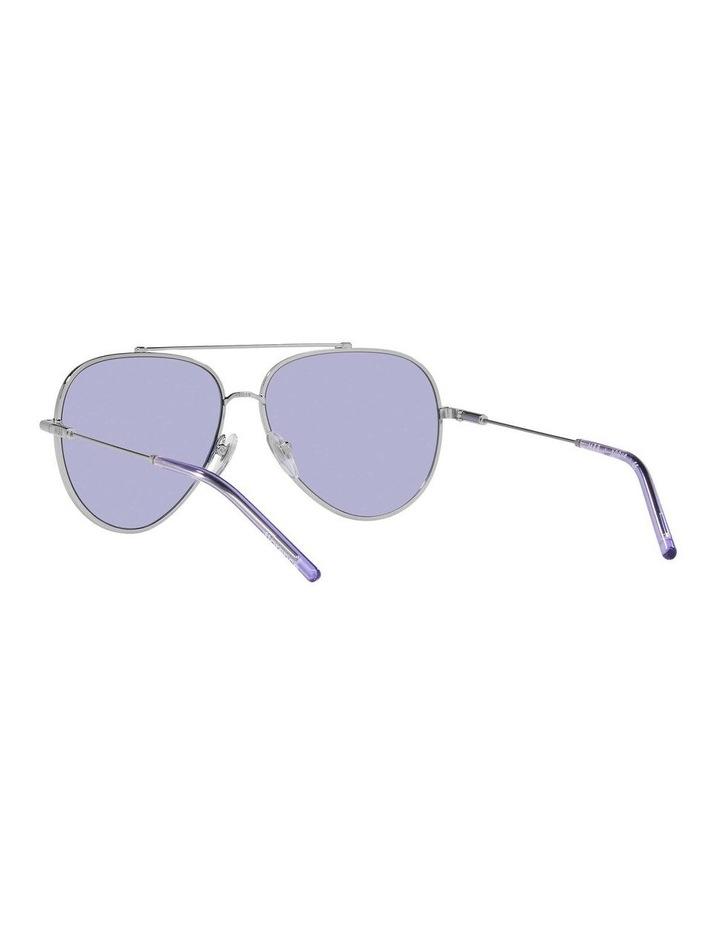MBB X VOGUE Silver/Purple Aviator Sunglasses 0VO4212S 1536498003 image 6