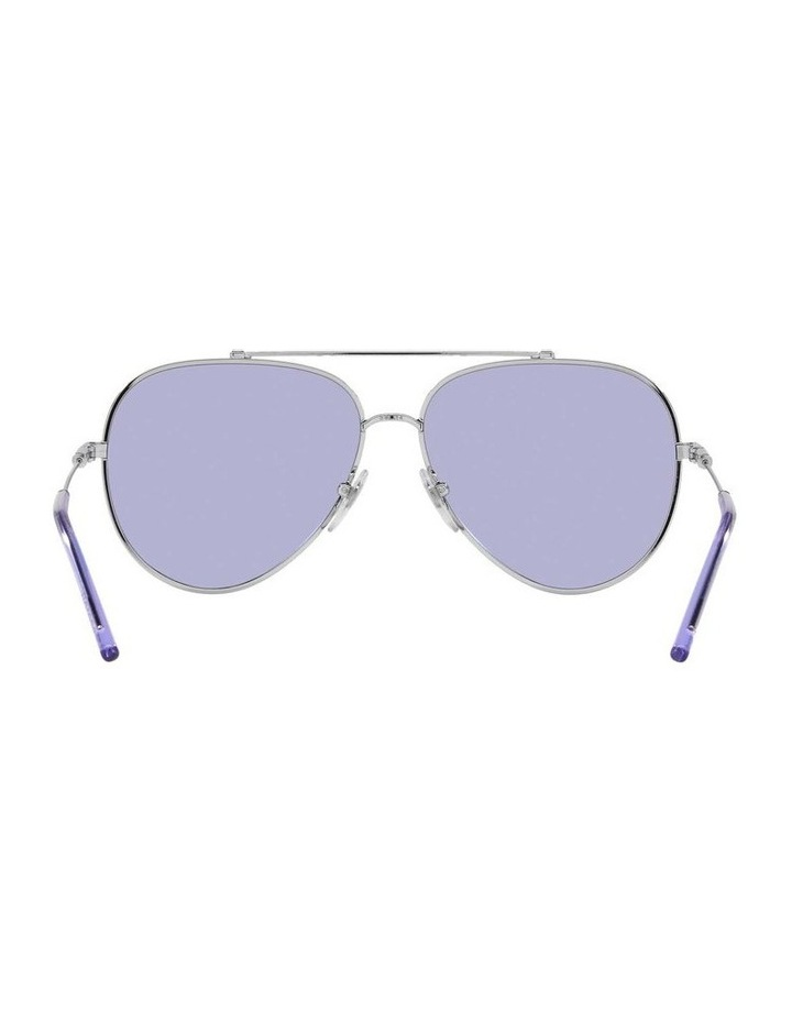 MBB X VOGUE Silver/Purple Aviator Sunglasses 0VO4212S 1536498003 image 7