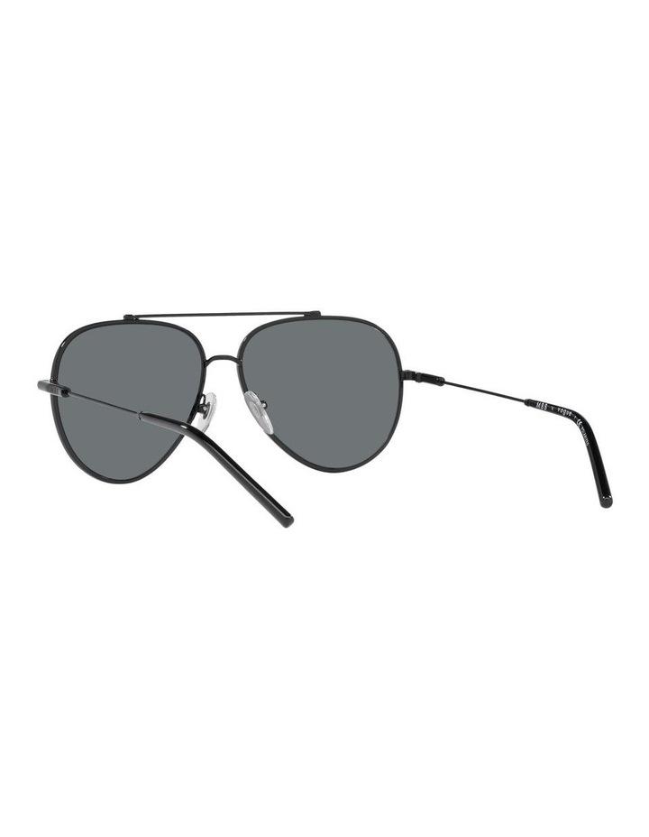 MBB X VOGUE Polarised Black Aviator Sunglasses 0VO4212S 1536498005 image 6