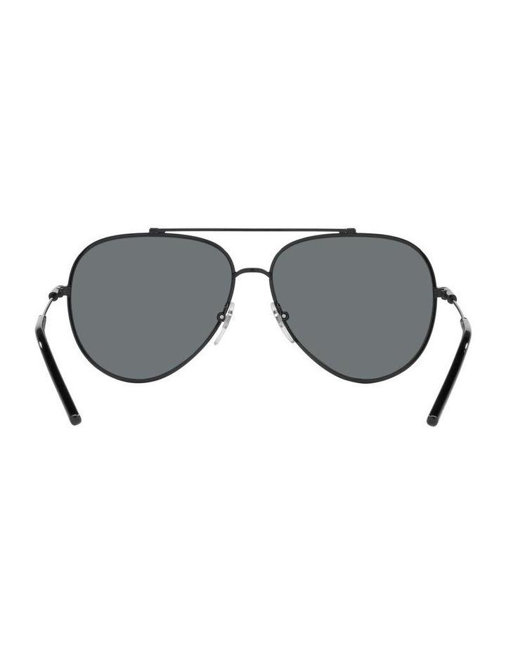 MBB X VOGUE Polarised Black Aviator Sunglasses 0VO4212S 1536498005 image 7