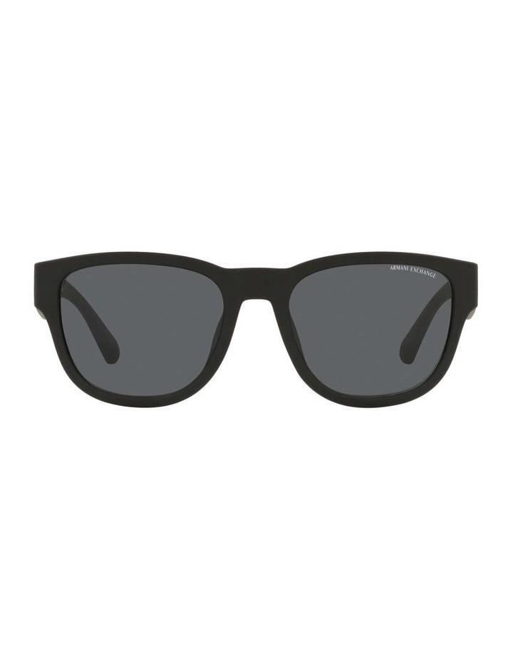 AX4115SU Matte Black Sunglasses image 2