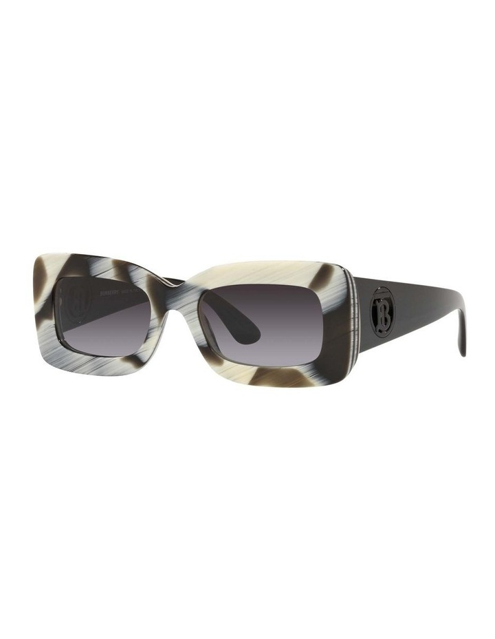 BE4343 Brown Horn/beige Sunglasses image 1