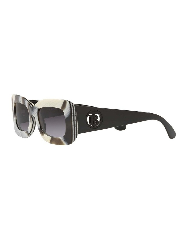 BE4343 Brown Horn/beige Sunglasses image 3