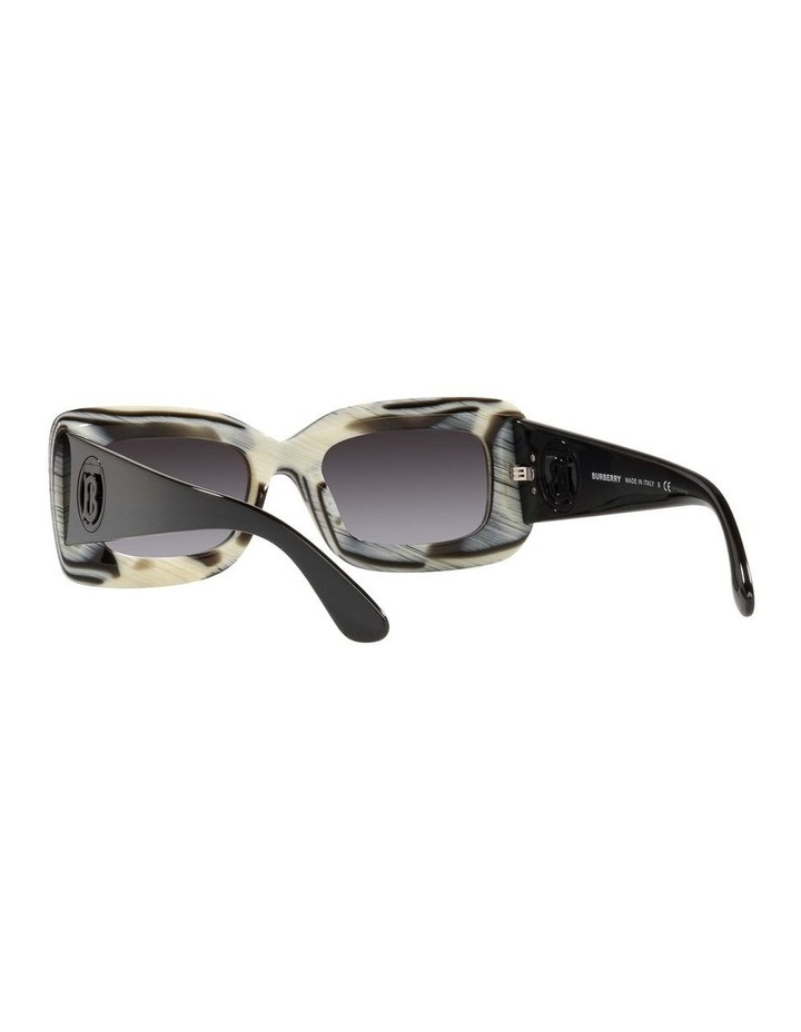BE4343 Brown Horn/beige Sunglasses image 6