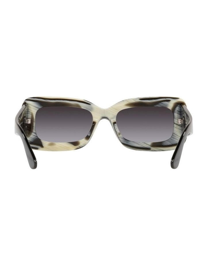 BE4343 Brown Horn/beige Sunglasses image 7