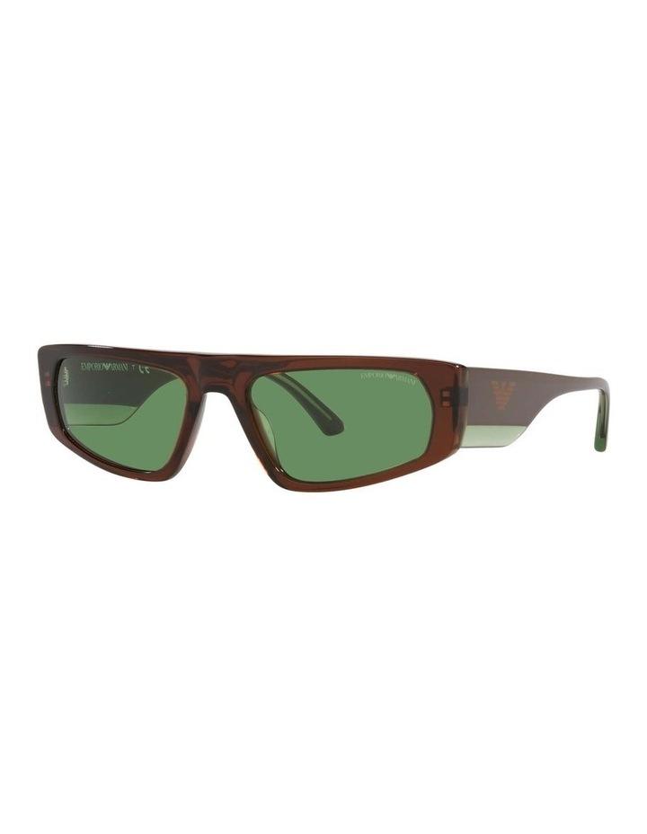EA4168 Brown Sunglasses image 1