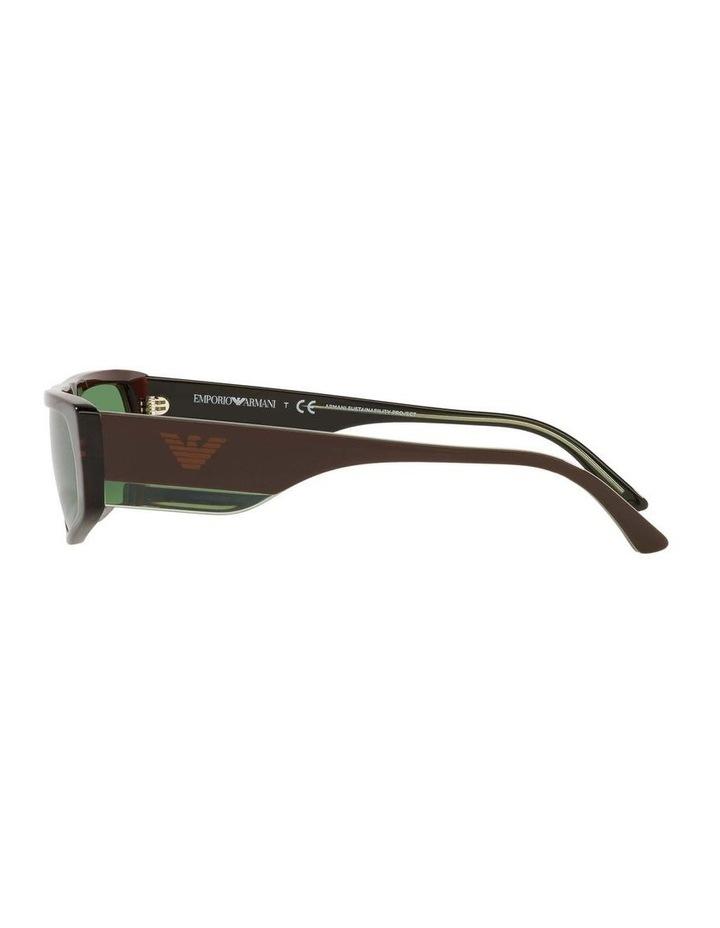 EA4168 Brown Sunglasses image 4