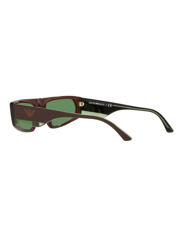 EA4168 Brown Sunglasses image 5