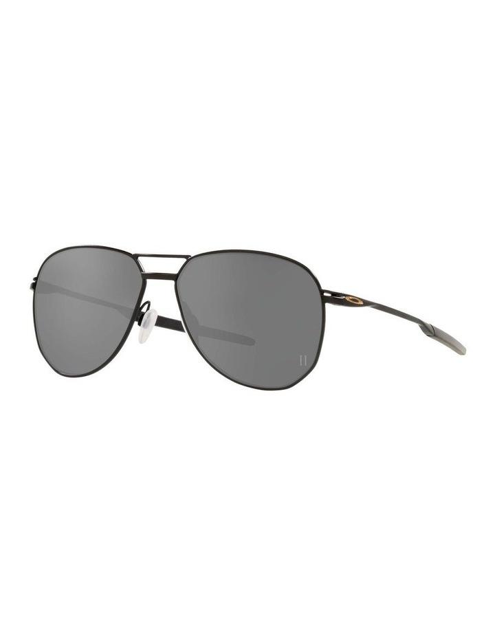 OO4147 Contrail Satin Black Sunglasses image 1