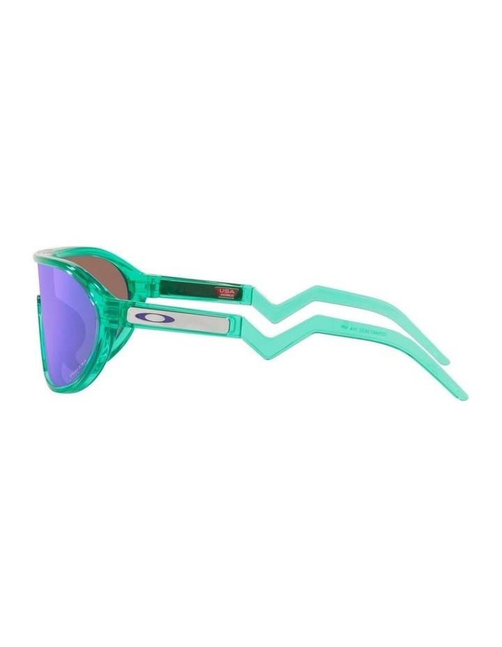 OO9467 Cmdn Trans Celeste Sunglasses image 4