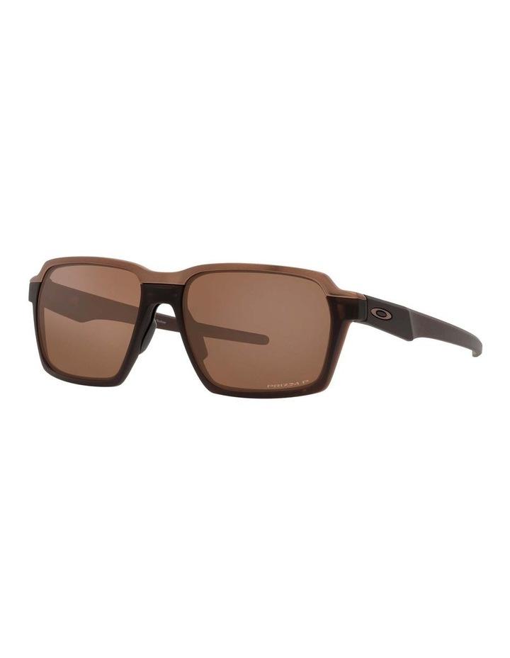 OO4143 Parlay Matte Rootbeer Polarised Sunglasses image 1
