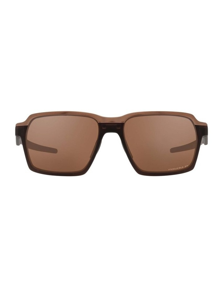OO4143 Parlay Matte Rootbeer Polarised Sunglasses image 2