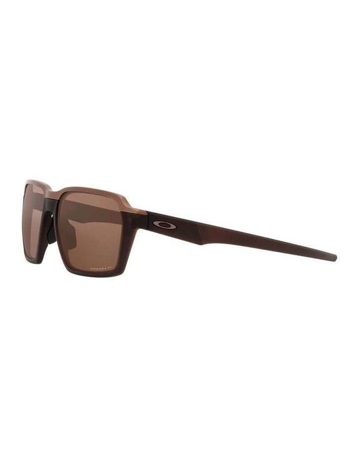 OO4143 Parlay Matte Rootbeer Polarised Sunglasses image 3