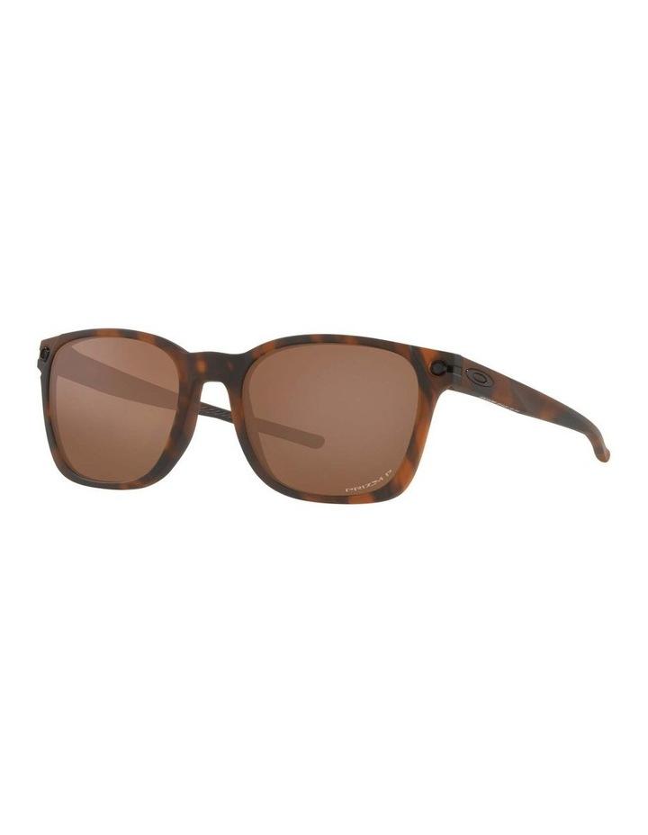 OO9018 Ojector Matte Brown Tortoise Polarised Sunglasses image 1