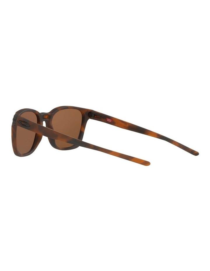 OO9018 Ojector Matte Brown Tortoise Polarised Sunglasses image 5