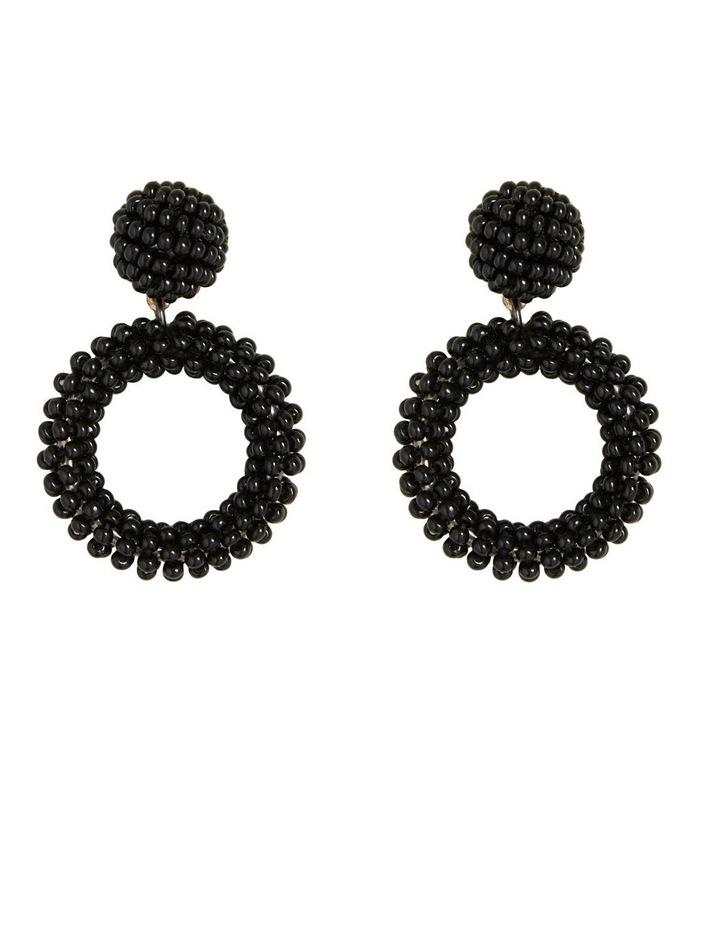 Mini Beaded Drop Earrings image 1
