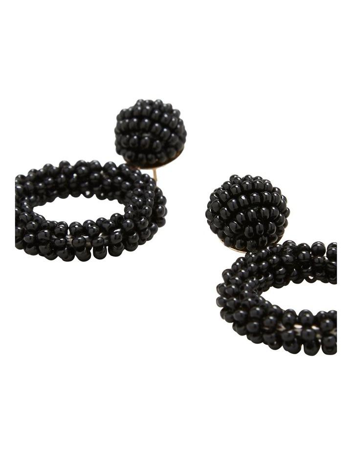 Mini Beaded Drop Earrings image 3