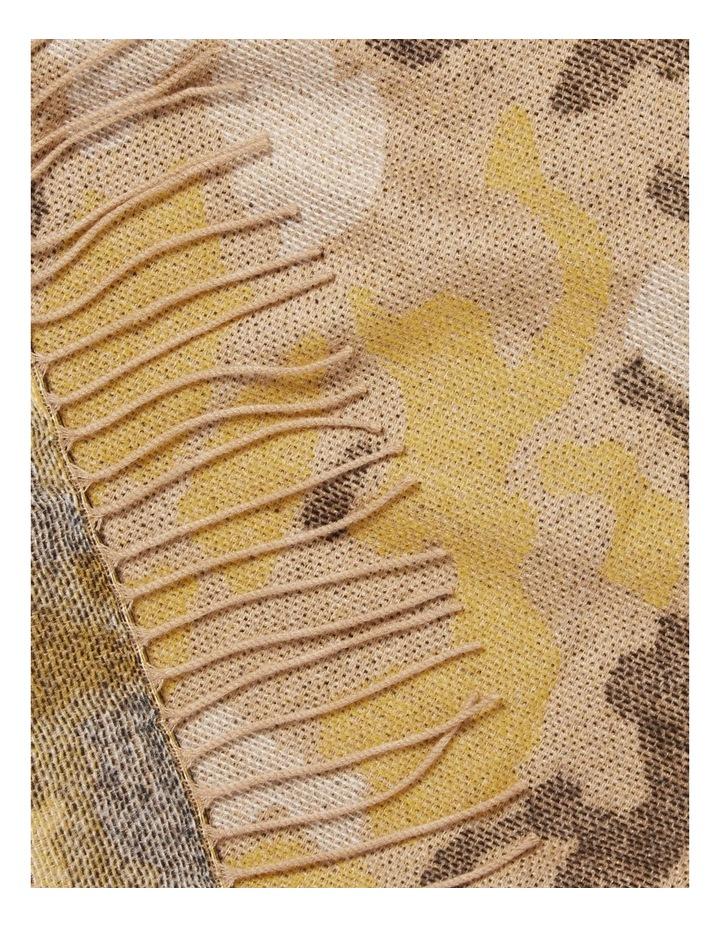 Ocelot Jacquard Scarf image 3