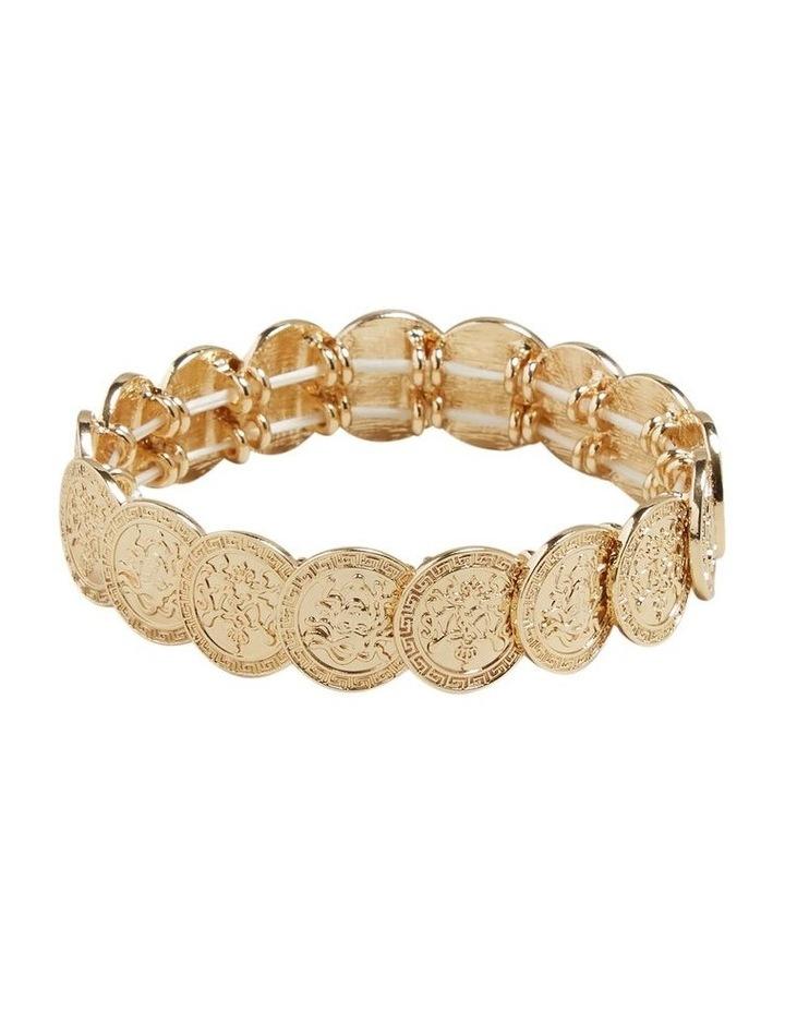 Stretch Coin Bracelet image 1
