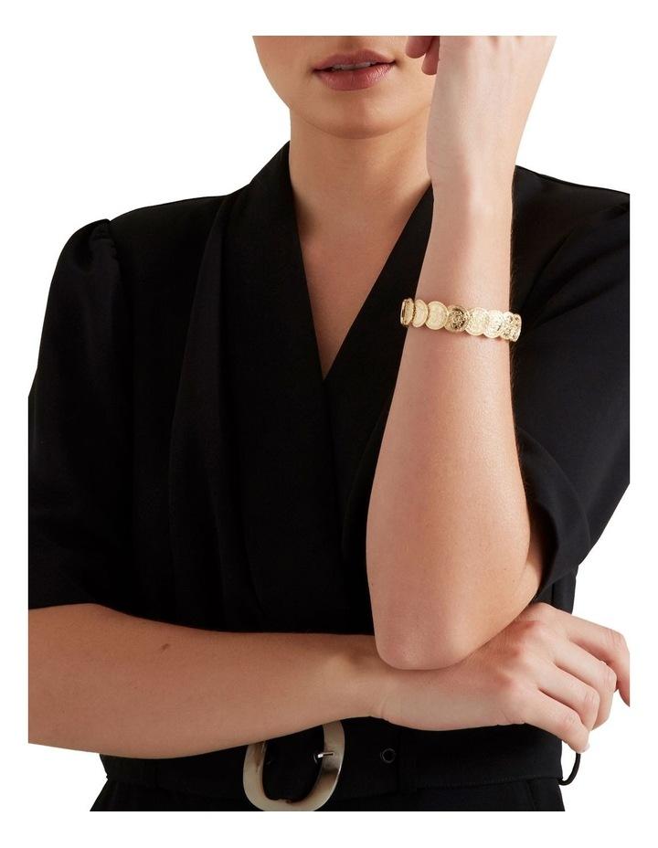 Stretch Coin Bracelet image 2