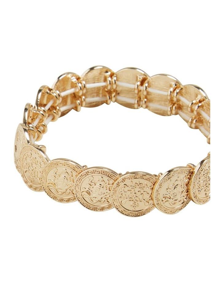 Stretch Coin Bracelet image 3