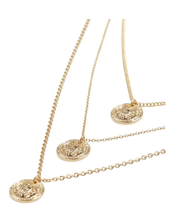 Layered Coin Necklace image 3