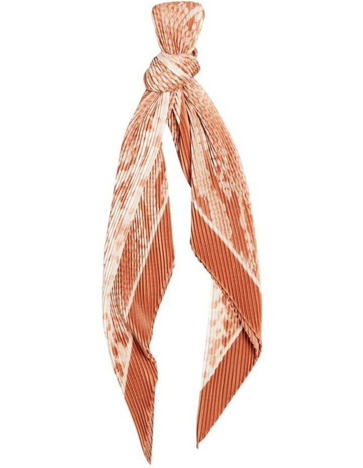 Pleated Square Neck Scarf image 1