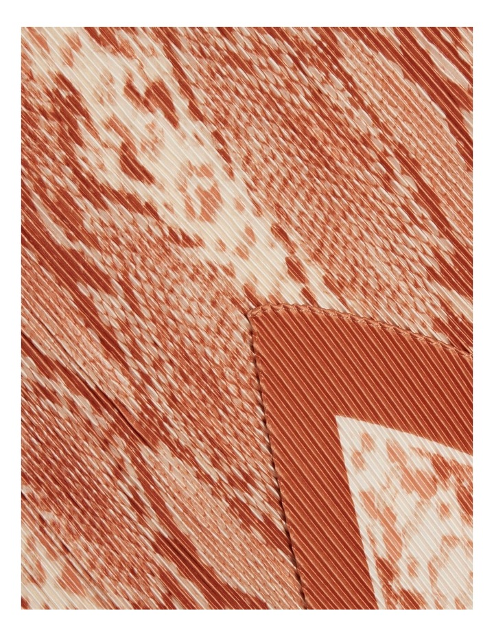 Pleated Square Neck Scarf image 3