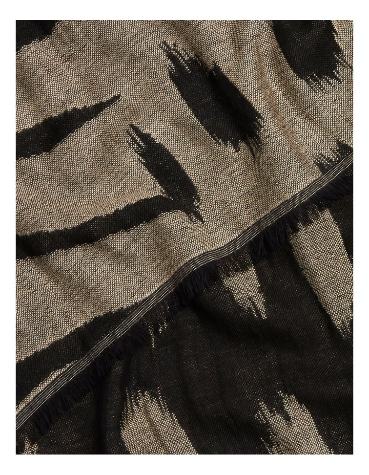Abstract Animal Jacquard Scarf image 3