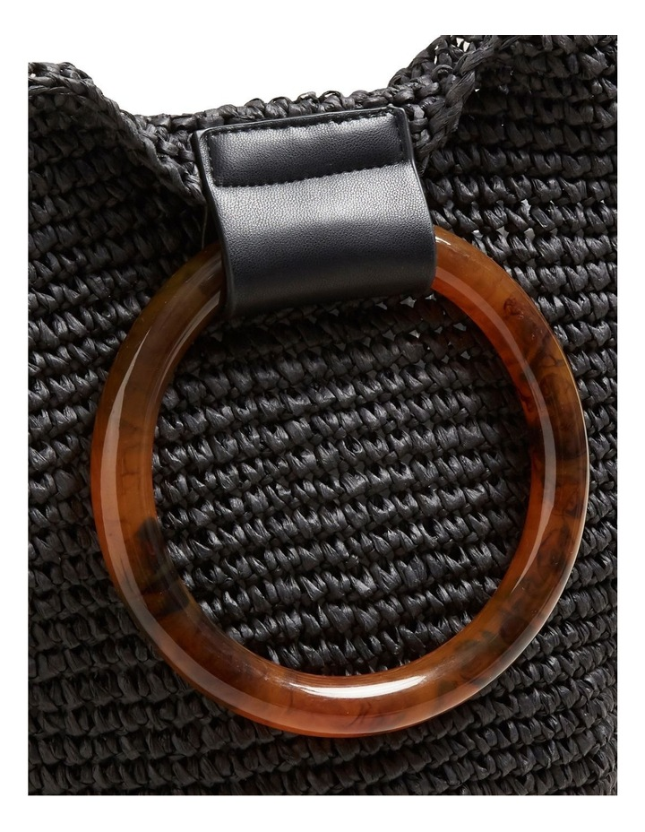 Ring Handle Woven Tote image 4