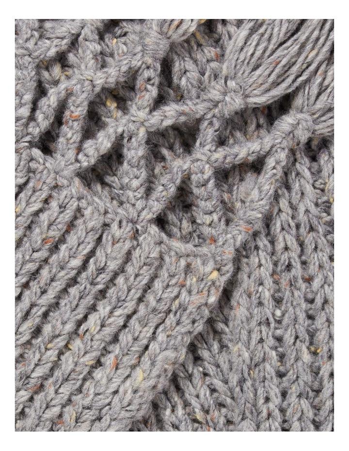Tassel Knit Scarf image 2