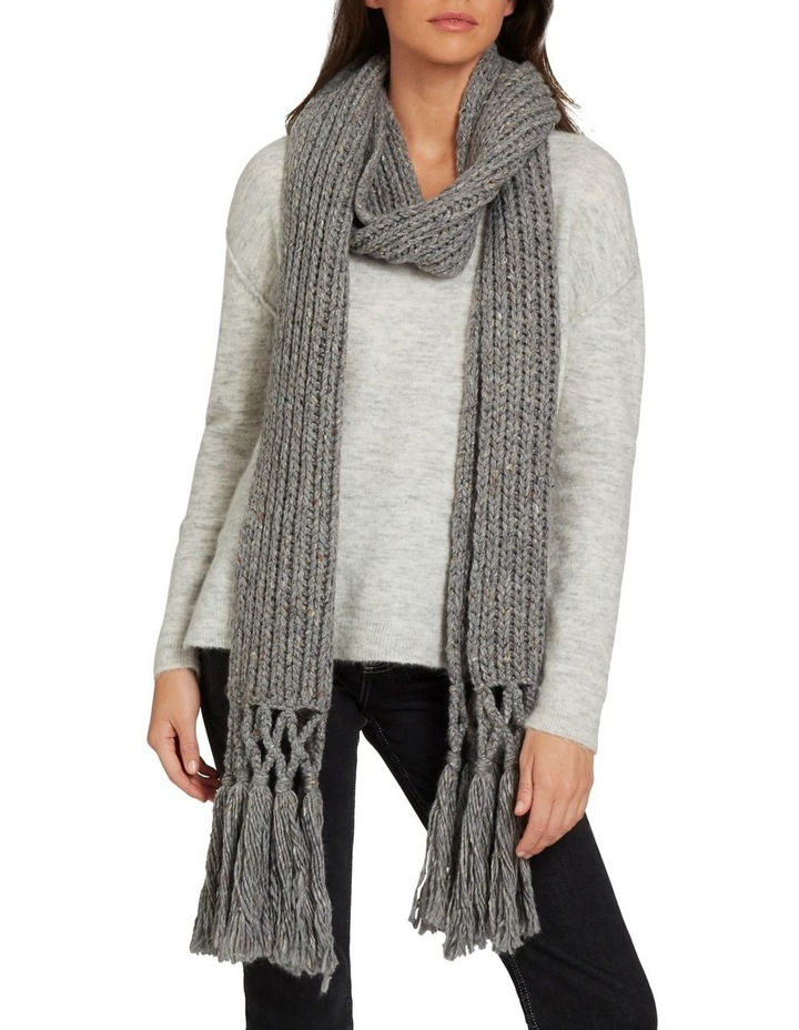 Tassel Knit Scarf image 3