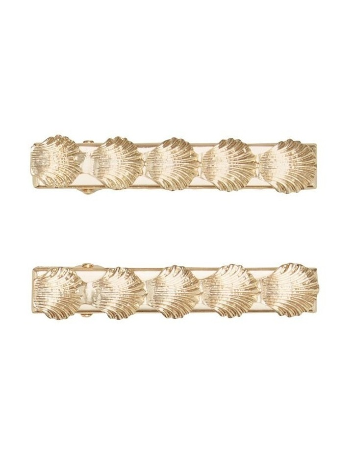 Shell Hair Clips image 1