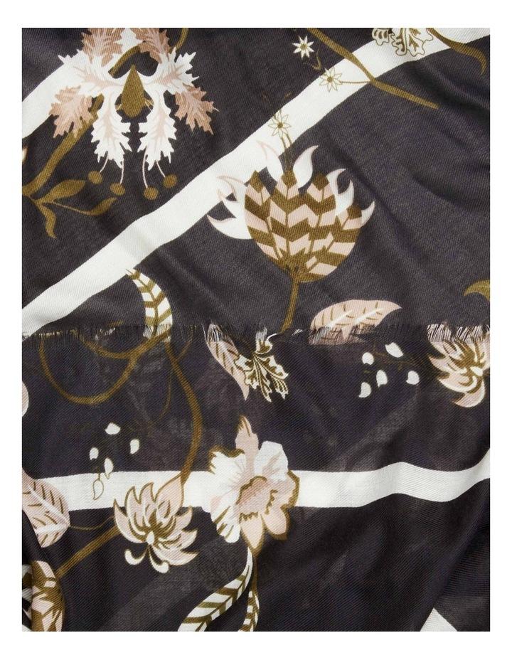 Stripe Floral Scarf image 3