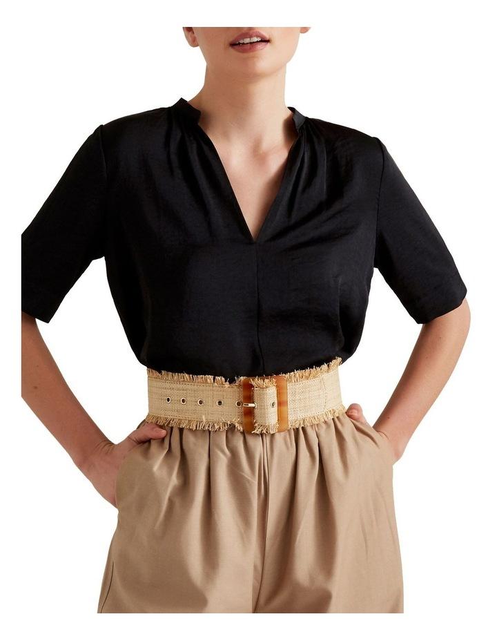 Raffia Waist Belt image 2