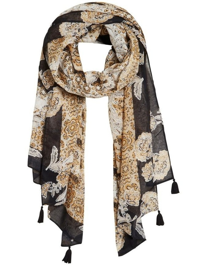 Layered Floral Scarf image 1